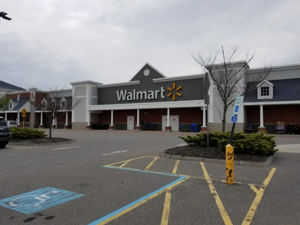 The Brunswick Walmart, located at 15 Tibbett's Drive. The location is assessed at $16.9 million, but the company contests it is really only worth about $10 million.