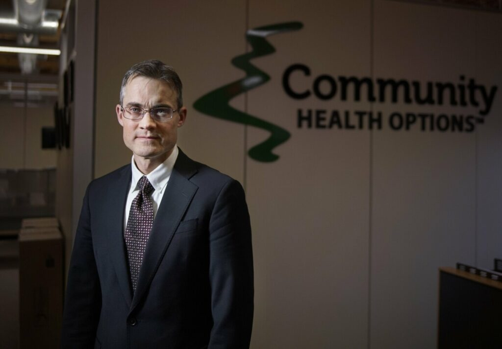 Kevin Lewis, CEO of Community Health Options.
