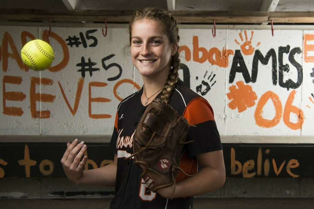 Skowhegan pitcher Sidney Ames is the Morning Sentinel Softball Player of the Year.