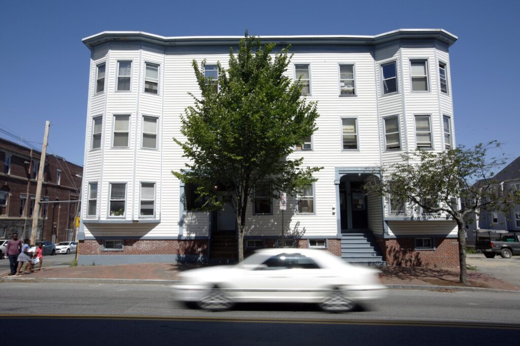 PORTLAND, ME - JULY 19: Developer Bill Simpson converted 273 Cumberland Ave. into a single-room occupancy building in a bid to address the city's affordable housing shortage. (Staff photo by Ben McCanna/Staff Photographer)