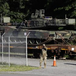 Trump says military tanks to be part of July Fourth
