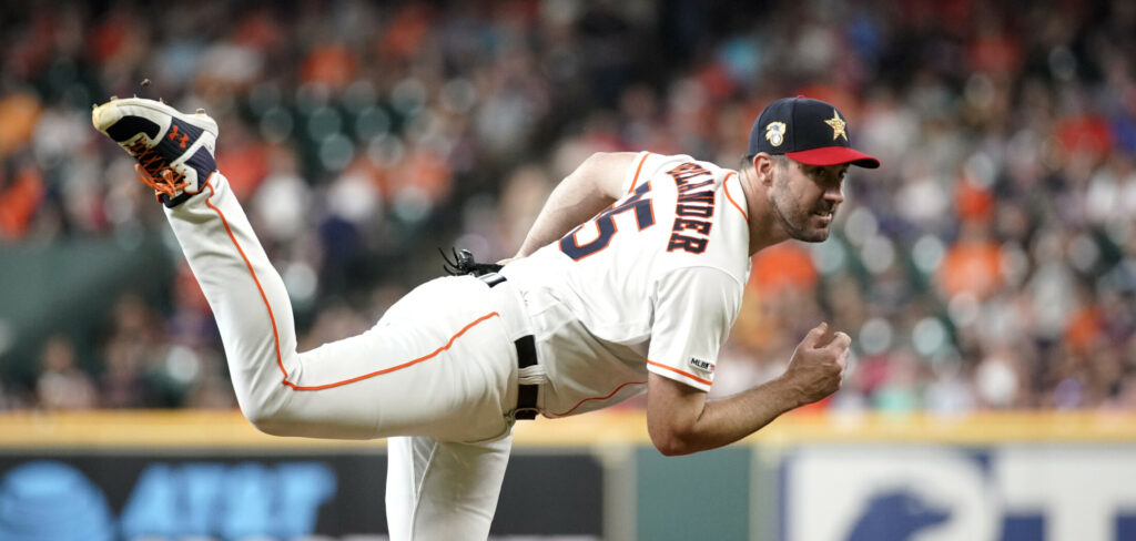 Houston's Justin Verlander will make his second All-Star Game start for the American League on Tuesday night.