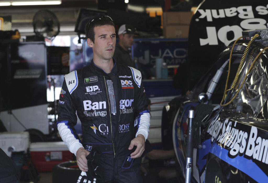 Austin Theriault qualified 36th out of 37 cars Friday for Sunday's Foxwoods Resort Casino 301 at New Hampshire Motor Speedway in Loudon, N.H.