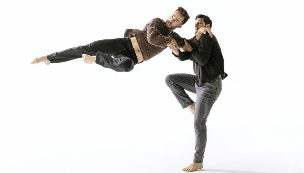 Doug Varone and Dancers first performed at Bates in 1992, and returned again Thursday.