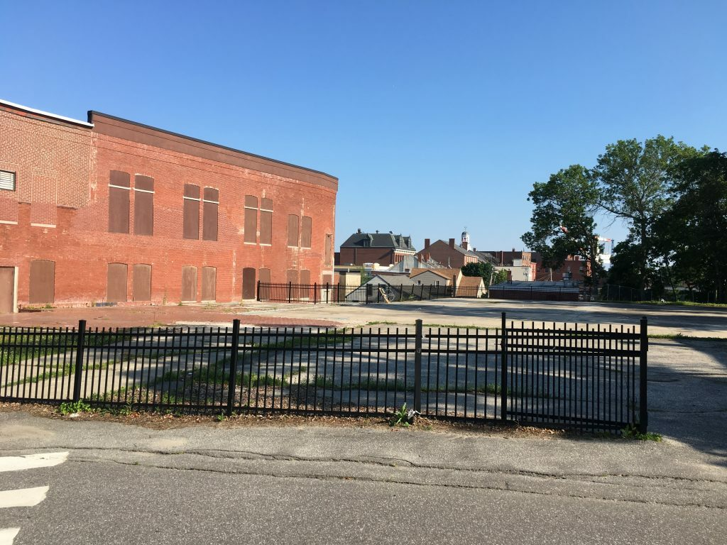 The 0.6-acre lot at 26 Summer St. where the YMCA once stood was assessed at $220,000 in 2016, according to municipal records.