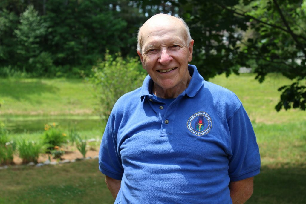 Maine Running Hall of Famer Jerry LeVasseur of Brunswick was 6 when he and his mother were caught in the 1944 Hartford Circus Fire, whicht killed 168 people, including his mother. Now 81, Levasseur has never let that loss or the injuries he sustained that day stop him from pursuing his goals.