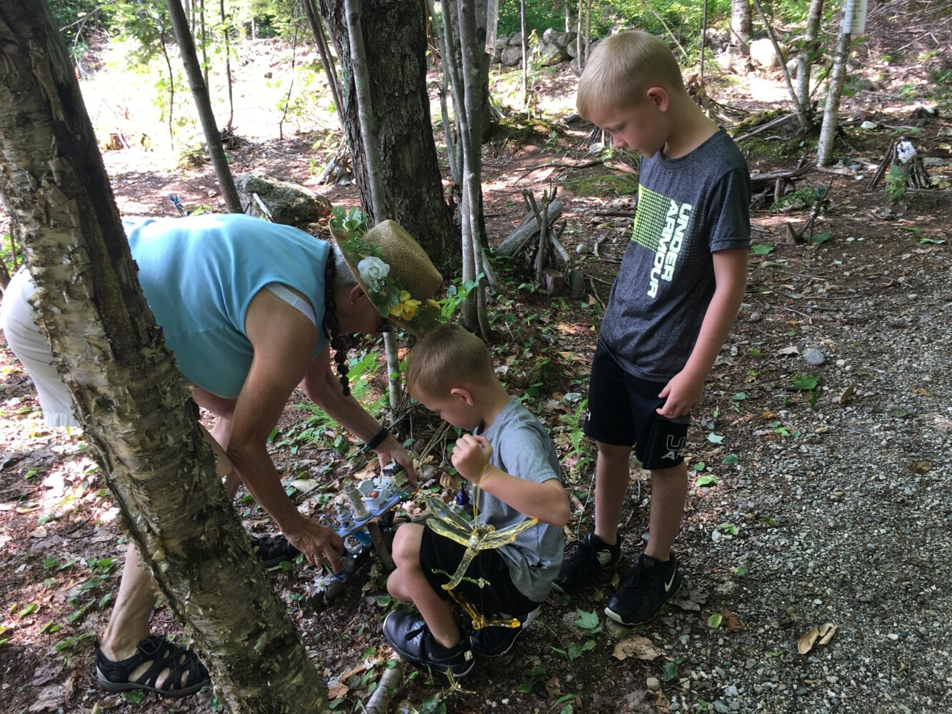 Photo: Family visits fairy houses in Peru | Lewiston Sun Journal