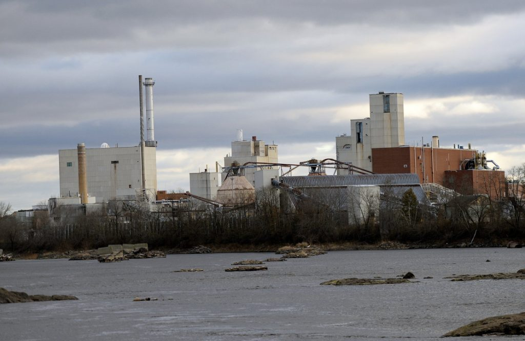 A fire Saturday at the ND paper mill in Old Town damaged a kiln.