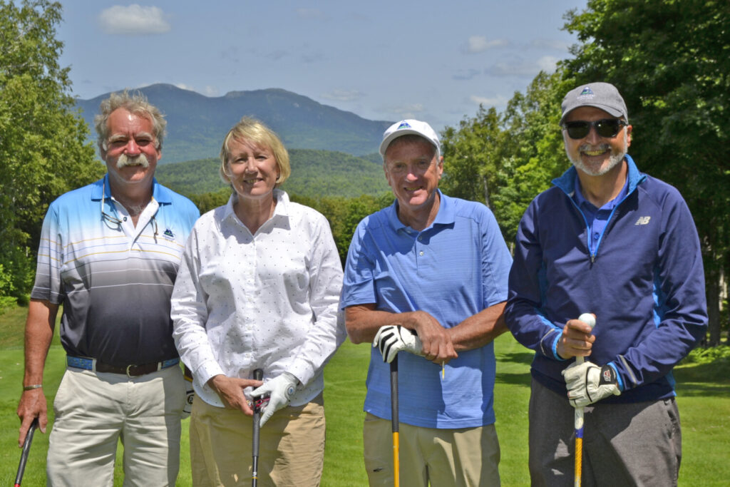The Town of Carrabassett Valley included, from left, Jay Reynolds, Deb Bowker, Dave Cota and John Freeman.