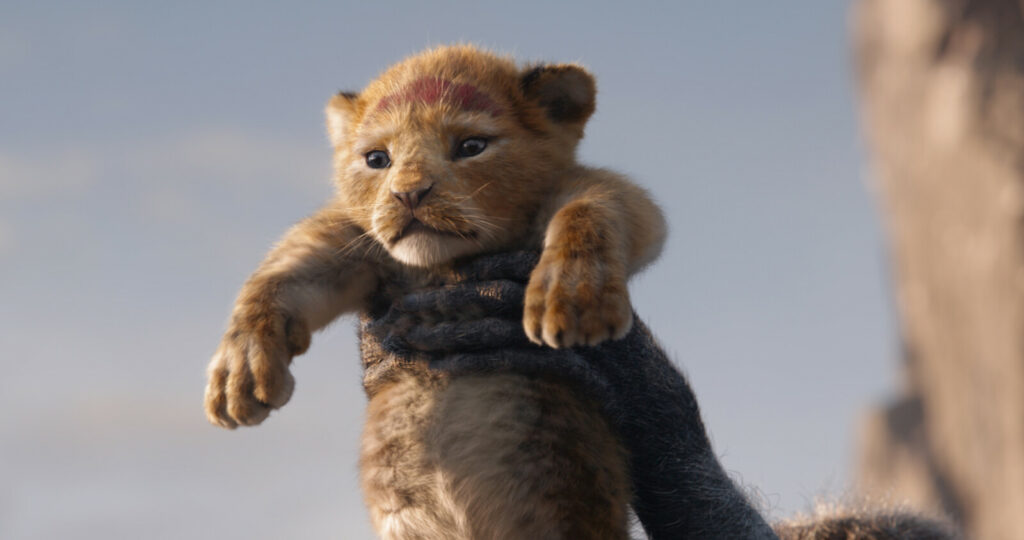 "The lion Simba, voiced as a cub by JD McCrary, is rendered with cuddly verisimilitude in Disney's CGI remake of ""The Lion King."""