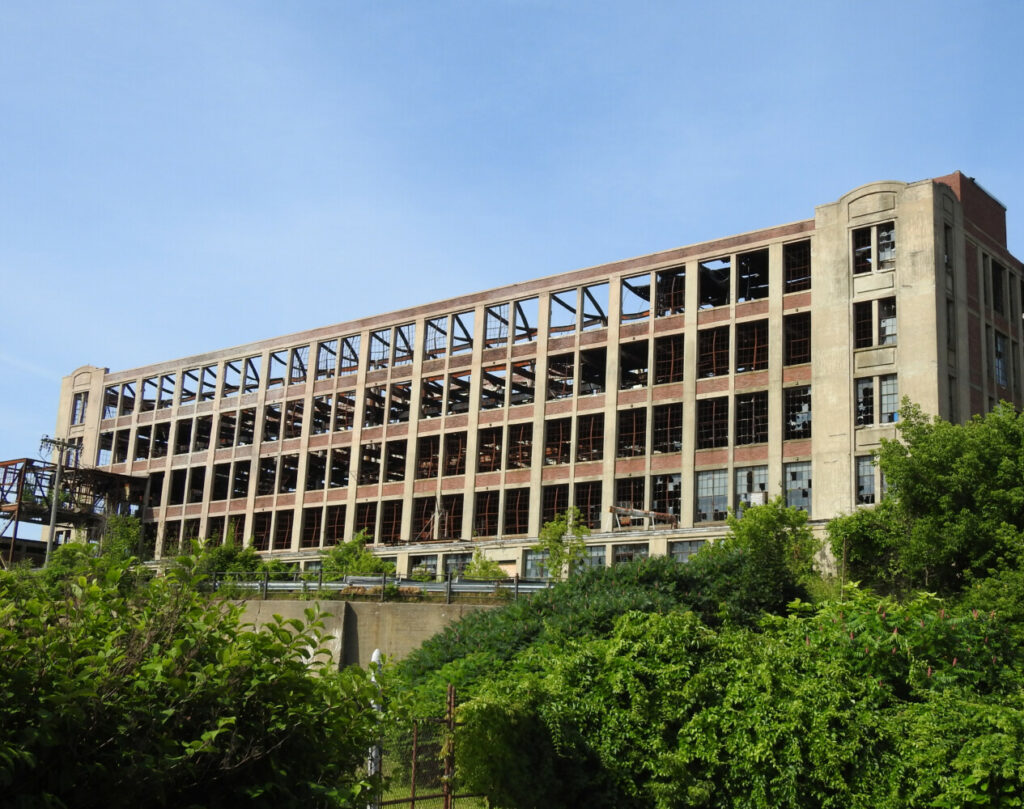 Equipment will begin  arriving sometime next week in preparation for the demolition of the rear tower of the Stenton Trust mill.