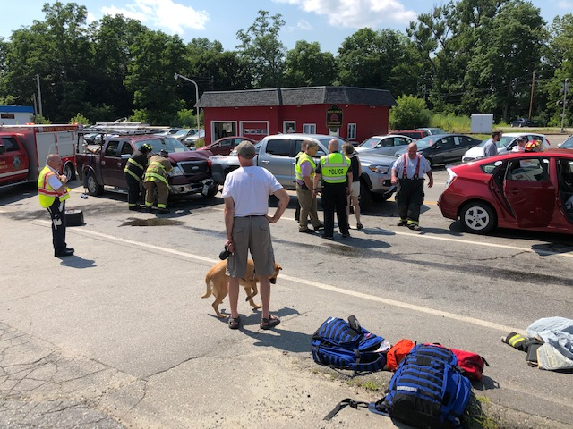 An accident involving several vehicles forced authorities to temporarily close U.S. Route 201 in Winslow on Tuesday afternoon.