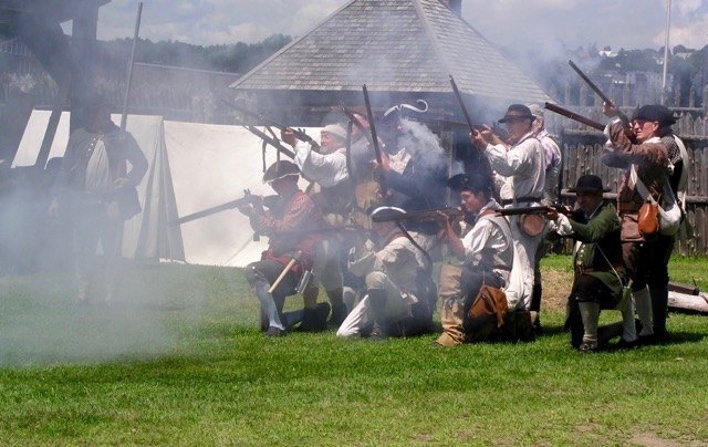 The James Howard's Company, reenactors of Fort Western, will hold a French and Indian War encampment Aug. 24 and 25 at Old Fort Western in Augusta.