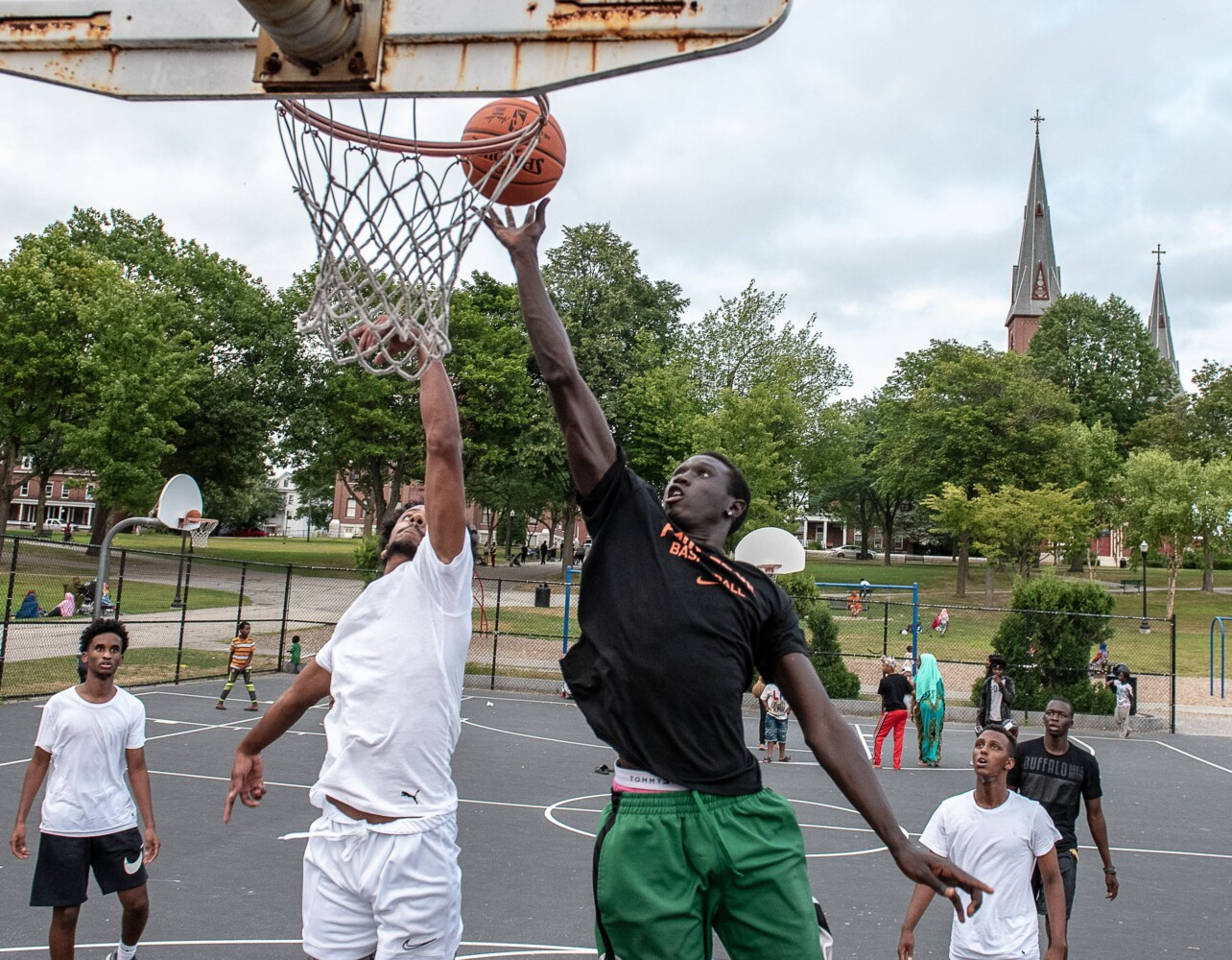 For many, The Gully and Kennedy Park are outlets and basketball