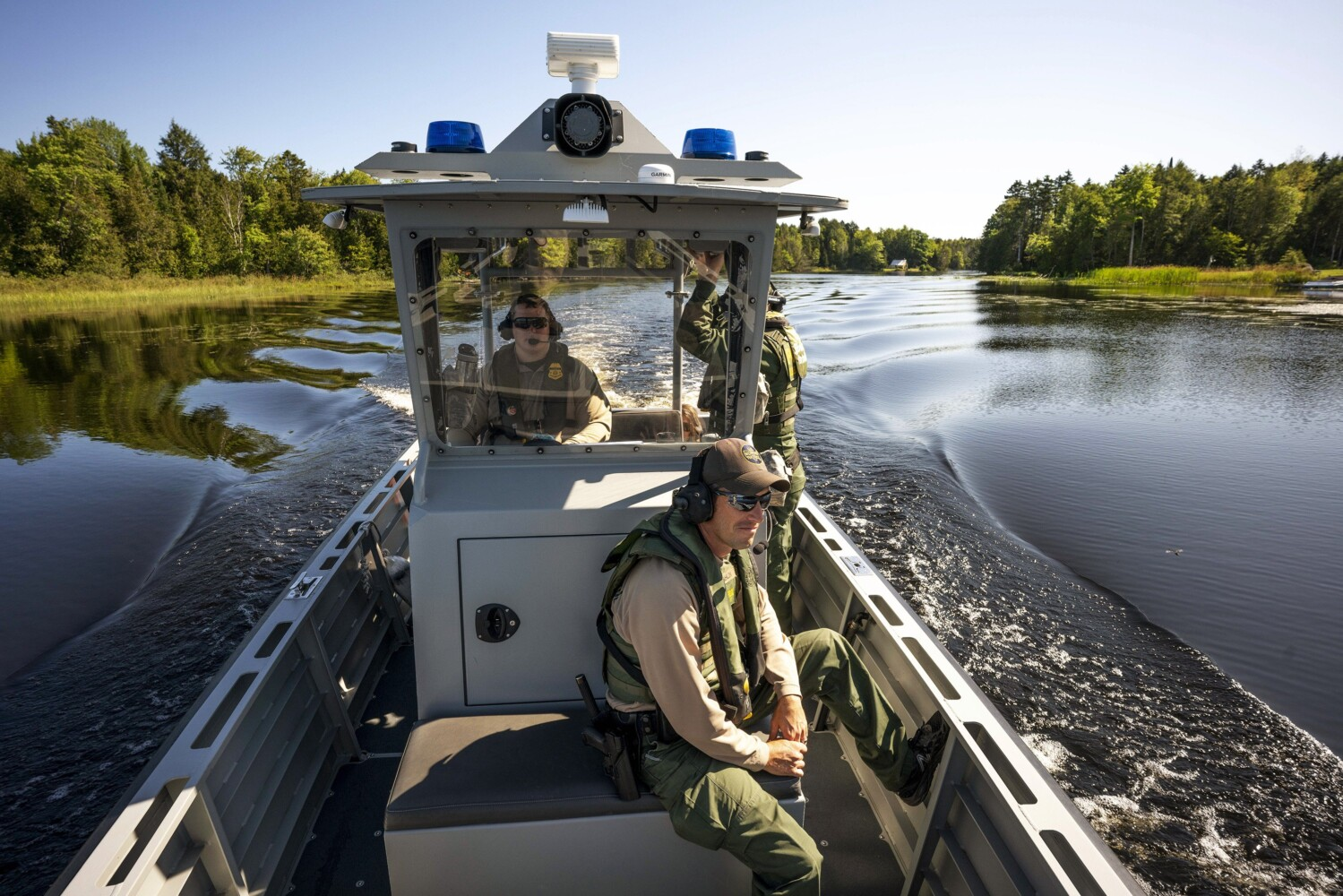 New border patrol chief explains why he uses #BuildTheWall and what his plans are for Maine | Lewiston Sun Journal