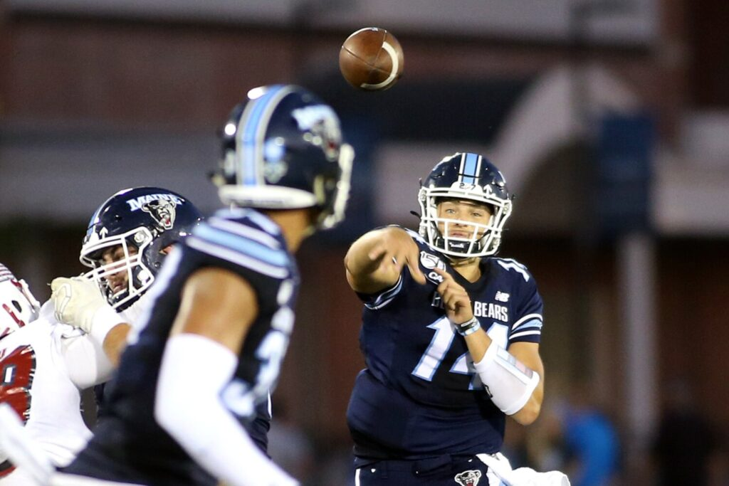Quarterback Chris Ferguson has decided to transfer from UMaine. He is looking to play at the FBS level, with one year of eligibility remaining.