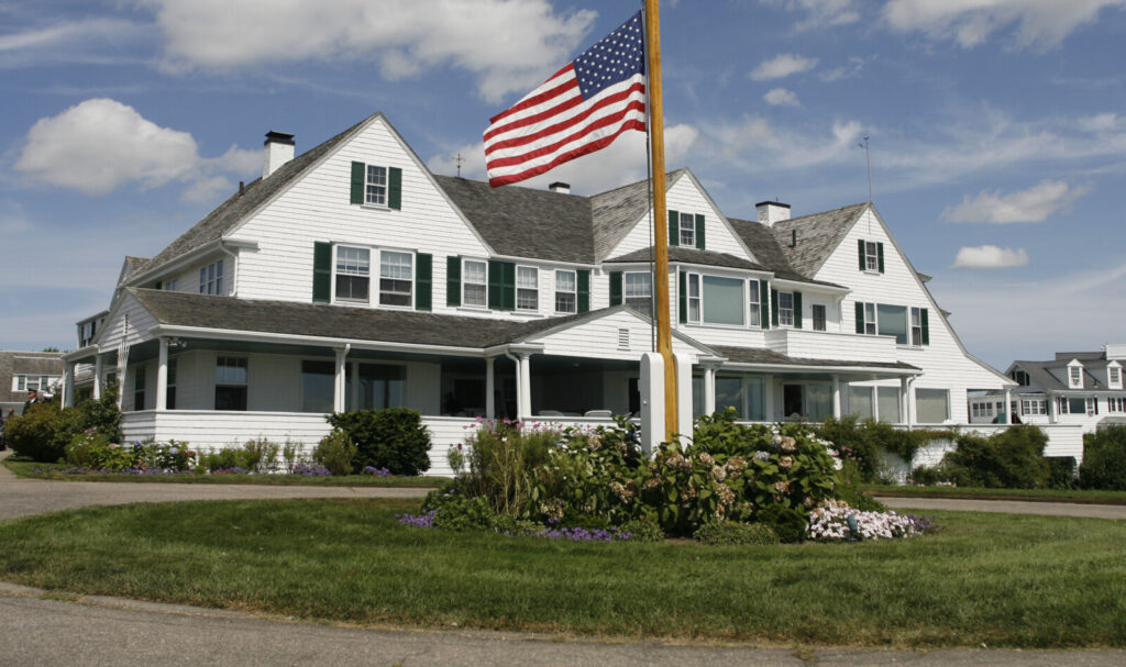 Saoirse Kennedy Hill died Thursday at the family compound in Hyannis Port, Mass.