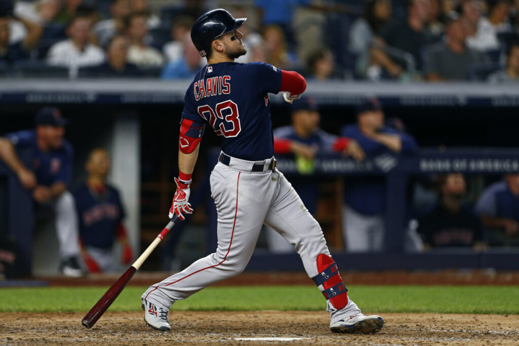 The Red Sox placed Michael Chavis on the injured list with a sprained left shoulder.