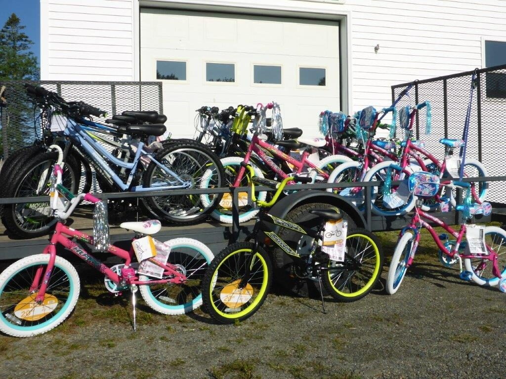 Winners of these 30 bikes will be drawn at 3 p.m. on Monday, Sept. 2. at the 72nd annual Harmony Free Fair. Kids ages 5 to 14 can enter the Bike Contest by answering an agricultural question any time during the fair. Child must be present to win.
