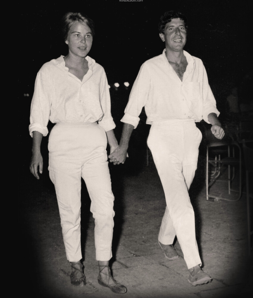 """A scene from the documentary """"Marianne and Leonard: Words of Love."""""""