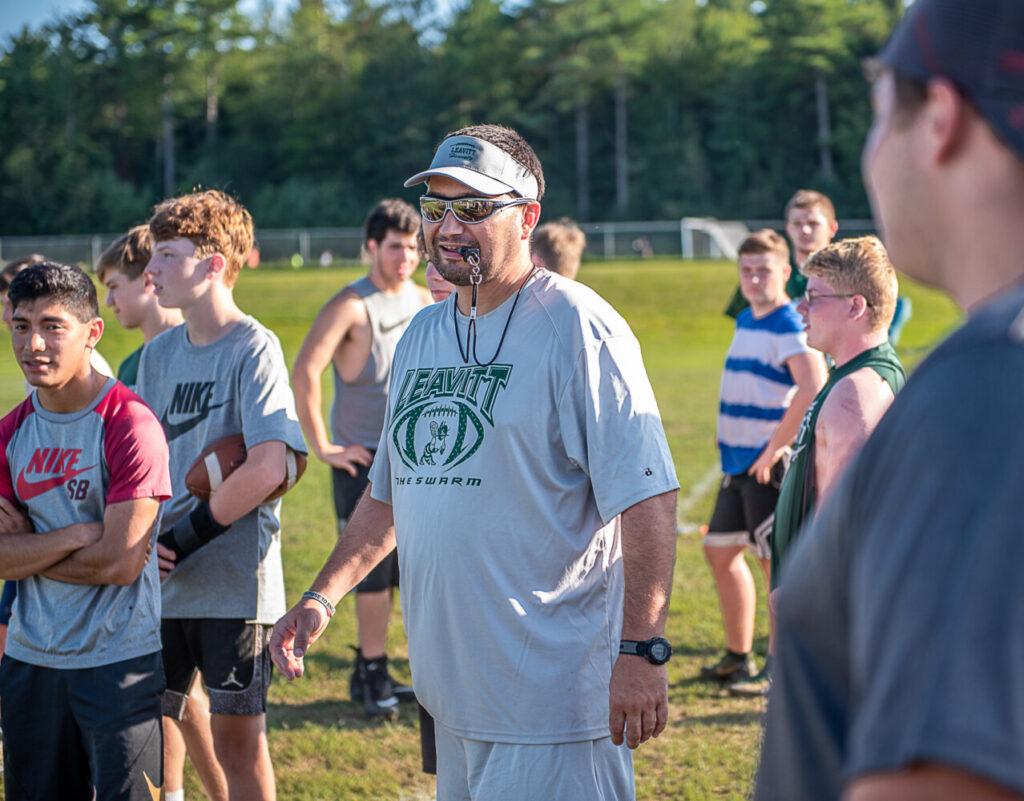 2019 football preview: Leavitt coach Mike Hathaway's