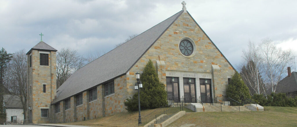 St. Rose of Lima Church in Jay present day.