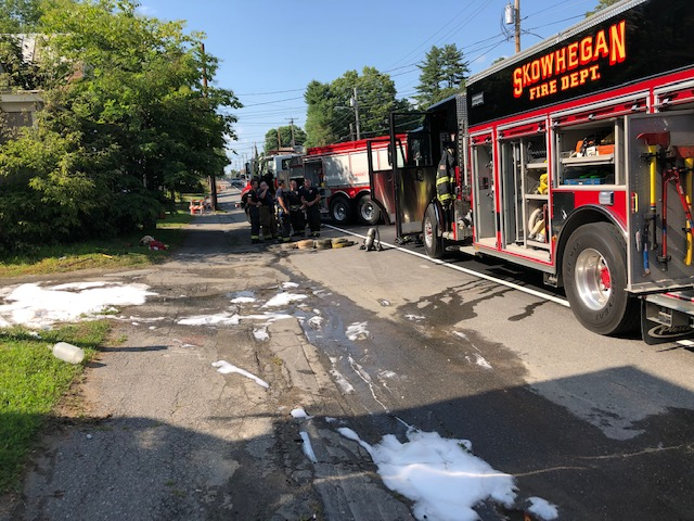Skowhegan Fire responded to a call on North Avenue Friday where a car fire was reported. The state Fire Marshal's Office was called to help in the investigation of the cause that also involved a house.