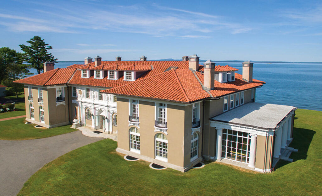 East of Eden, an estate in Bar Harbor, was sold at auction Saturday.