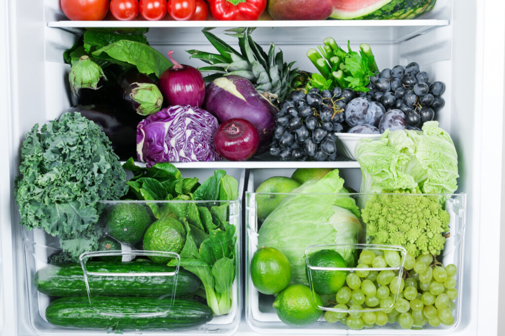 Fridge full of fruit and veggies? Learn to store them properly so they don't spoil before you can eat them.