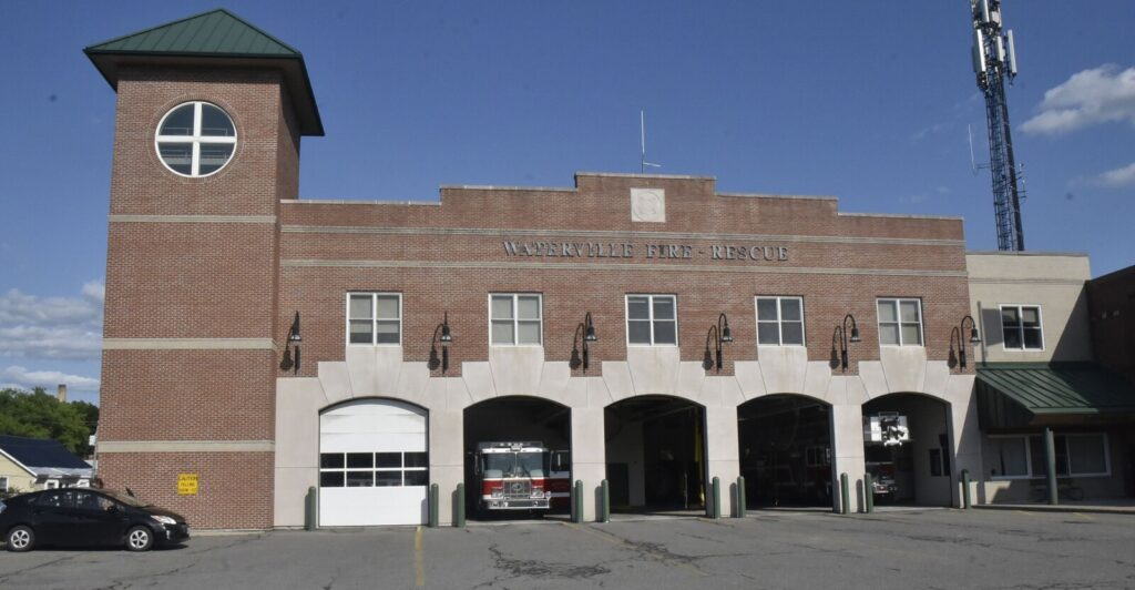 The Waterville Fire Department building seen July 15.