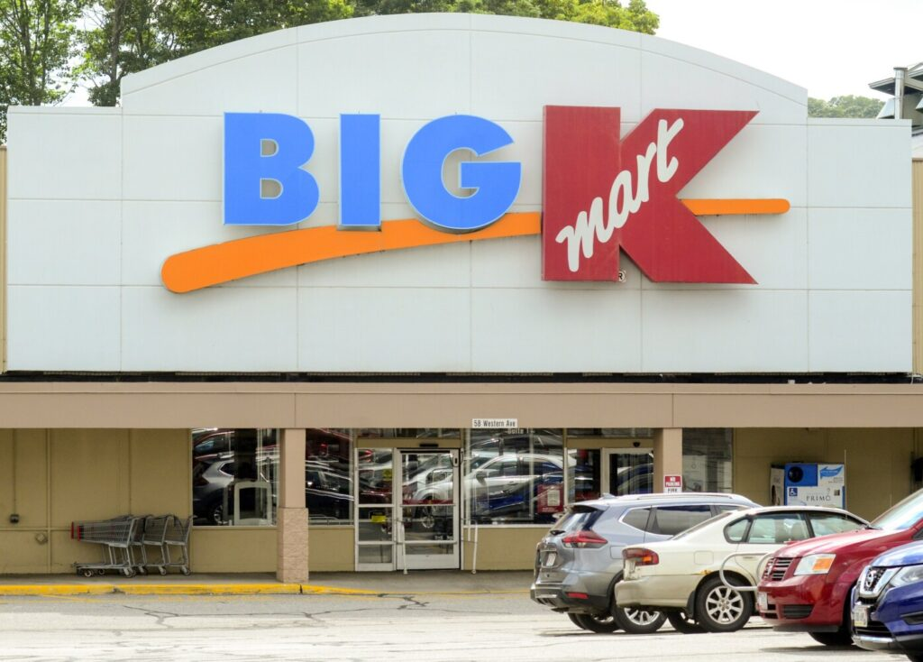 The Big Kmart on Western Avenue in Augusta, seen on Tuesday, is slated to close.