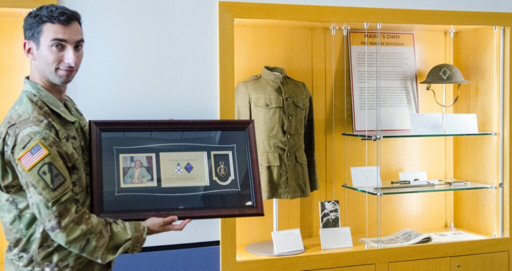 WWI guardsman's Purple Heart given to Maine National Guard | Lewiston Sun Journal