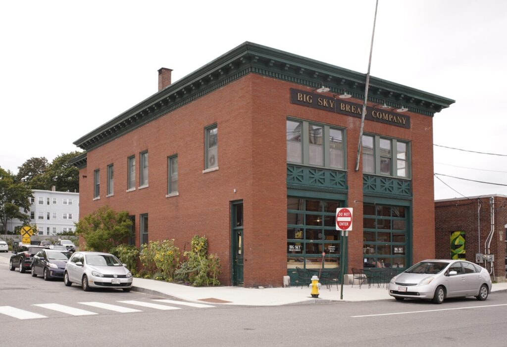 The owner of the building at 536 Deering Ave., which houses Big Sky Bread Co., is among the property owners who oppose a proposal to designate 17 buildings along Forest Avenue in Portland as historic landmarks.