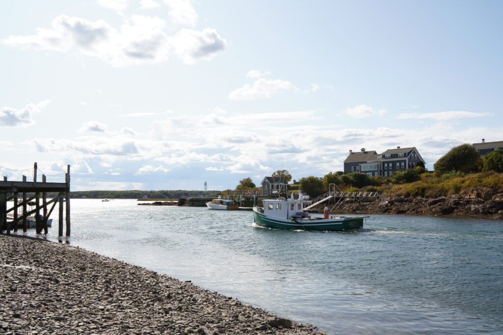 A lobster boat pulls into Biddeford Pool on Tuesday, Sept. 24, 2019. Clam flats in Biddeford Pool have been closed to digging since August and will be closed thru October because of pollution.