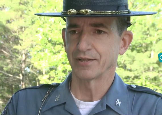 At the time of the incident in June, Maine State Police chief Col. John Cote said Grendell was shot when he came out of his residence and picked up a firearm.