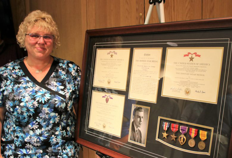 Sherry Thomas of Shapleigh never knew her father, who died in Vietnam when she was an infant.