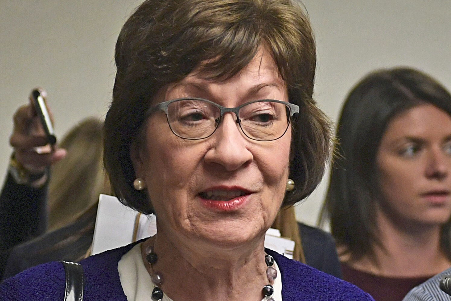 Collins' vote on border wall measure becomes fodder for Democrats | Lewiston Sun Journal