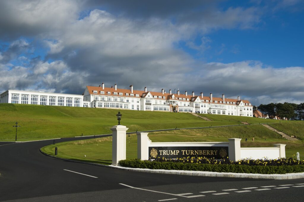 Trump Turnberry Resort in Scotland
