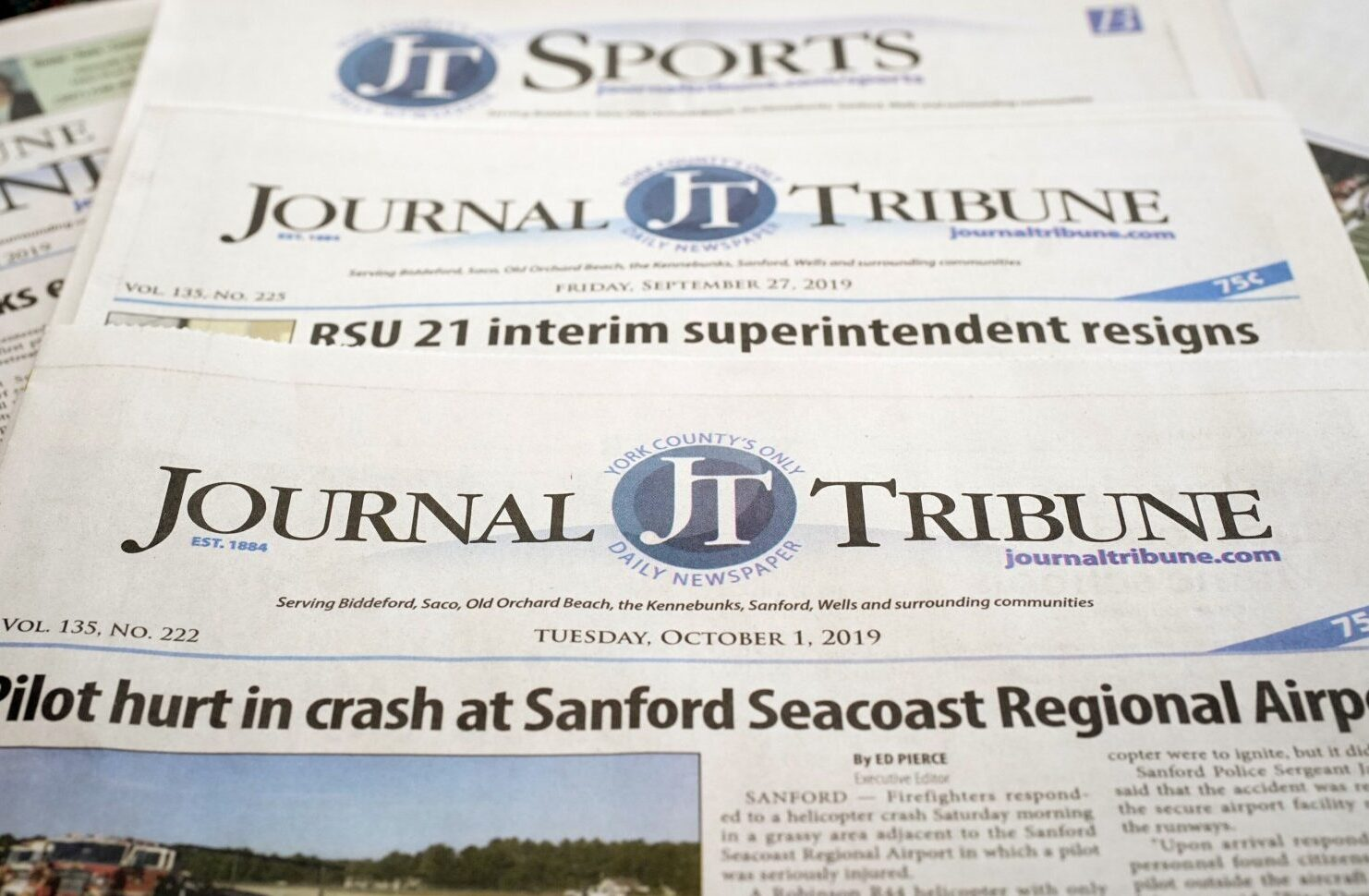 Biddeford S Daily Journal Tribune Will Soon End Its Run After 135 Years Portland Press Herald