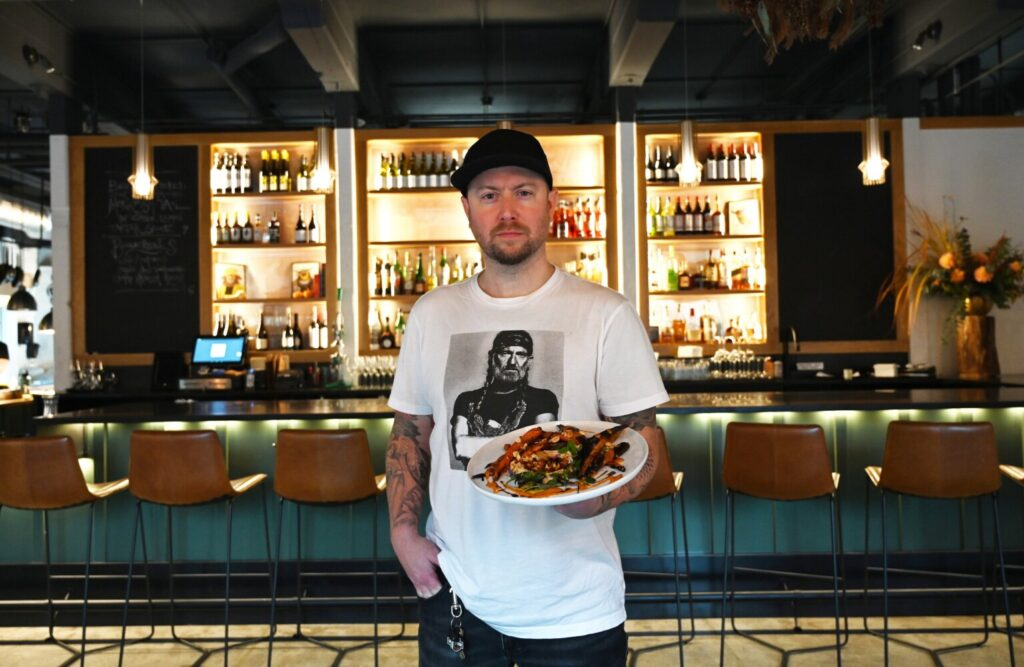 Dine Out critic Andrew Ross picked The Garrison, owned by chef Christian Hayes (pictured here) and his wife, Christine Hayes, as the Best New Restaurant of 2019.