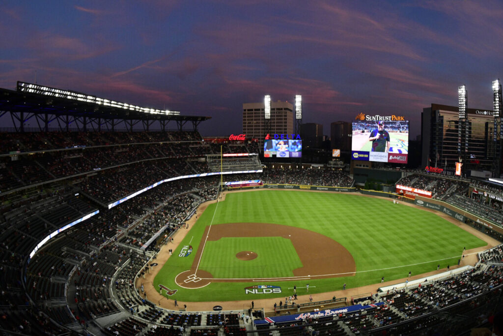 Home has not been very good to the Atlanta Braves in the playoffs. Atlanta has lost nine straight postseason series, many of those at their home park, formerly Turner Field and now SunTrust Park.