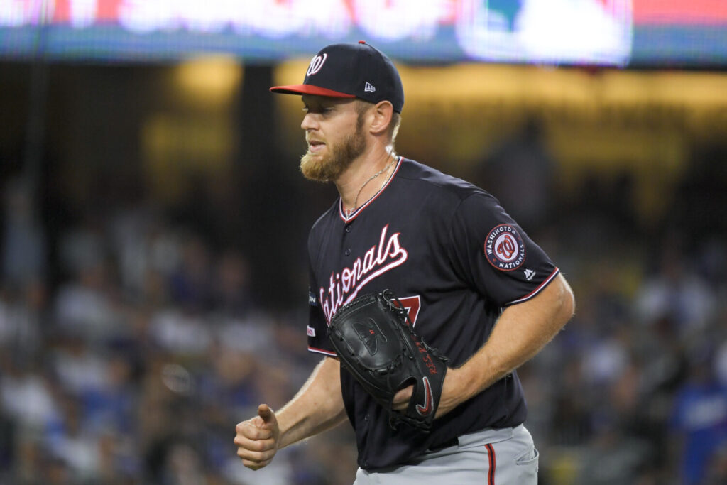 Stephen Strasburg will start Game 5 of the NLDS when the Washington Nationals face the Los Angeles Dodgers on Wednesday night.