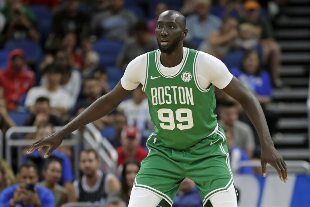 Boston Celtics and Maine Red Claws rookie center Tacko Fall will don a tuxedo and serve as a guest conductor for the Boston Pops on Monday.