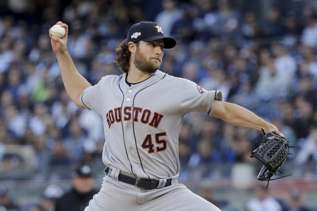 Gerrit Cole, who will start the World Series opener for Houston, is 19-0 in his last 25 starts, including 3-0 in the postseason.