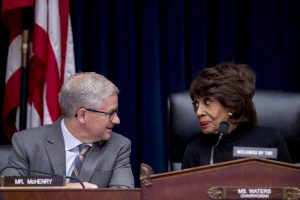 Maxine Waters, Patrick McHenry