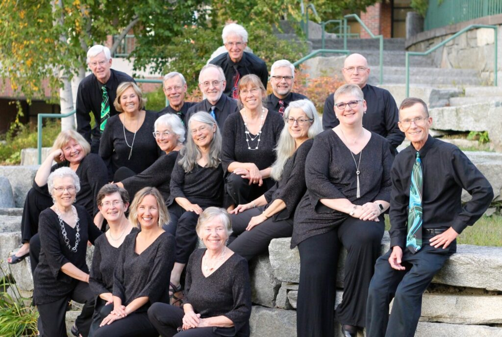 Maine Music Society Chamber Singers, host and one of six performing groups at Battle of the Blends XXVI set for Saturday, Nov. 2, at Gendron Franco Center in Lewiston.