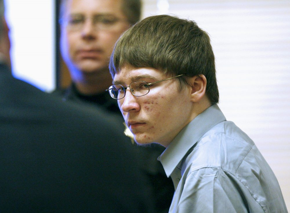 "In this April 16, 2007, file photo, Brendan Dassey appears in court at the Manitowoc County Courthouse in Manitowoc, Wis. Dassey, the man convicted of rape and murder when he was a teenager whose story was documented in the 2015 Netflix series ""Making a Murderer,"" is asking Wisconsin's governor for a pardon. Attorneys for Dassey said Wednesday, Oct. 2, 2019, that they are petitioning Democratic Gov. Tony Evers for either a pardon or a commutation of his life prison sentence."