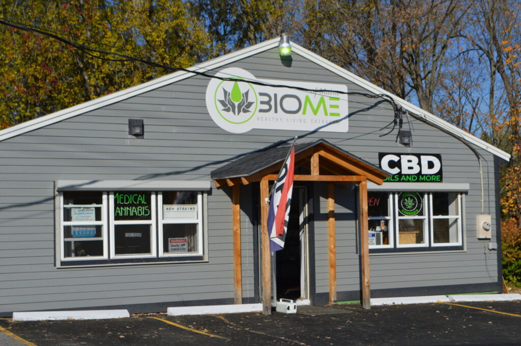 Biome, a medical marijuana dispensary on Bridge Street in Farmington, was burglarized last Tuesday, according to police.