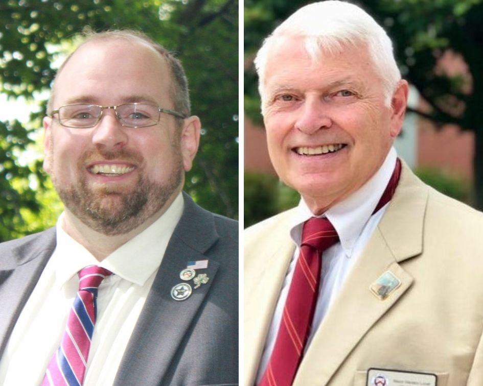 William Doyle has upset Marston Lovell to win the mayor's race in Saco.