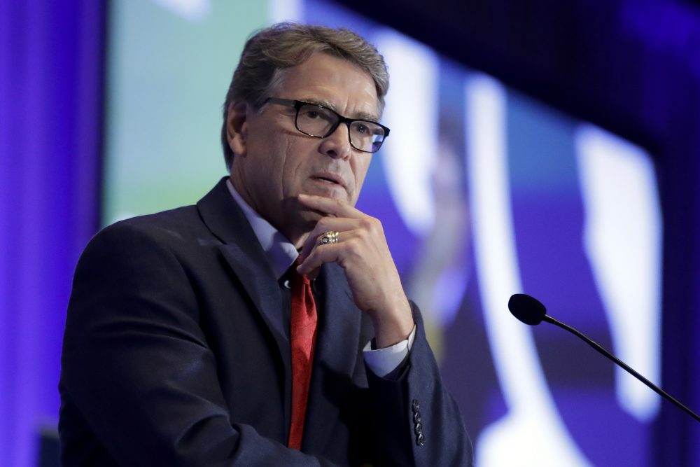 Energy Secretary Rick Perry pushed Ukraine's president this year to replace members of a key supervisory board at Naftogaz, a massive state-owned petroleum company. He has been subpoenaed in the House impeachment probe.